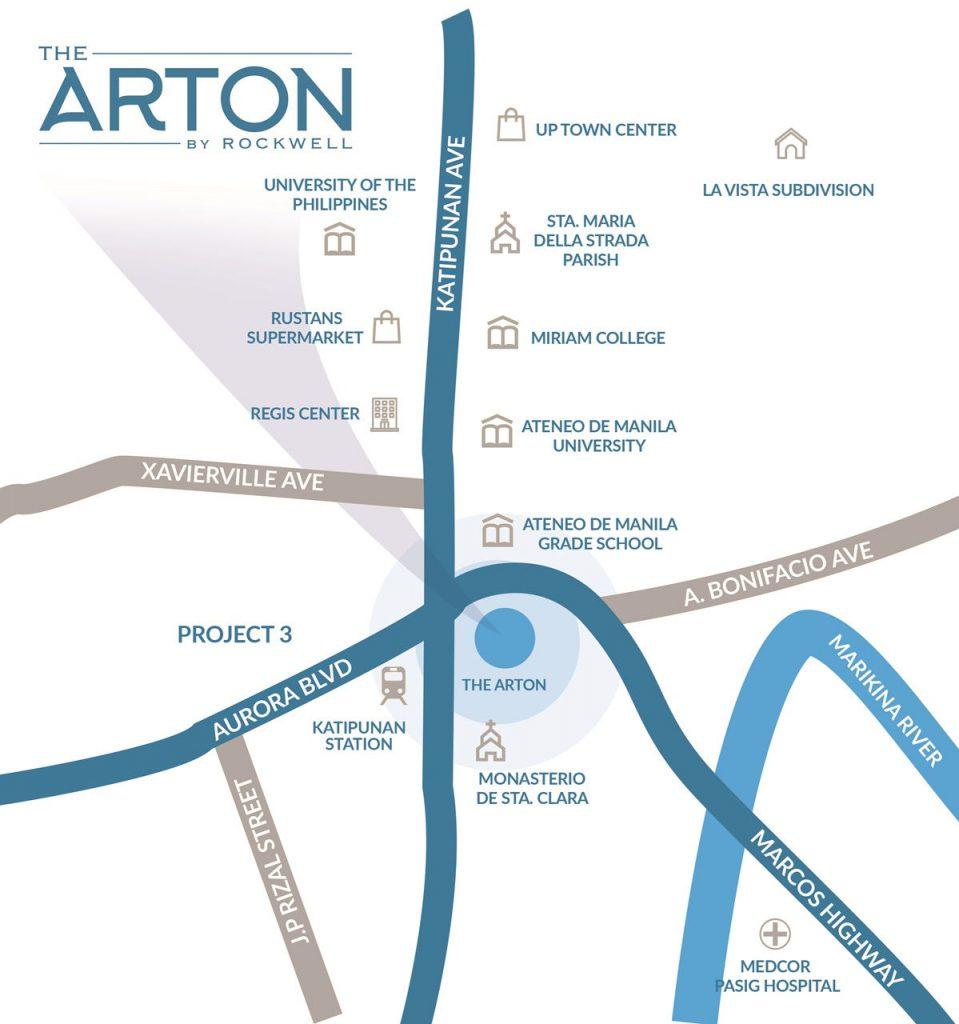 The Arton - Map